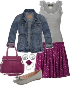"""""""Casual Spring set"""" by lovelyingreen ❤ liked on Polyvore"""