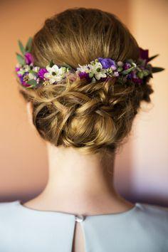 INNA Studio_ floral crowns / wianek ślubny / kolorowy wianek / fot. Wedding Tales