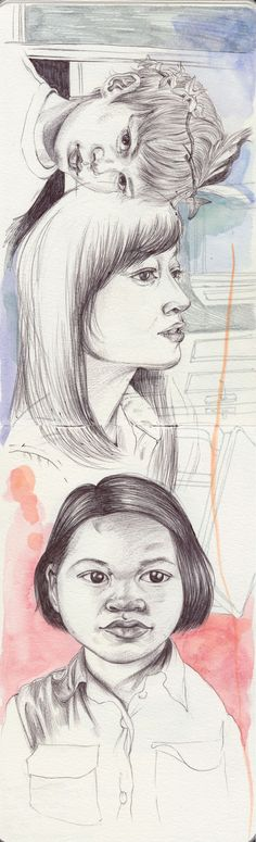 Sketchbook by henrietta Harris