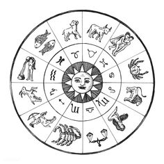 Astrology chart vintage style illustration | free image by rawpixel.com