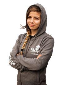 $60.00 Sea Shepherd Women's Jolly Roger Zip Hoodie