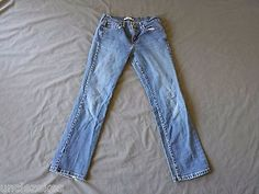 Levis Womens 505 Straight Leg Jeans Size 6M