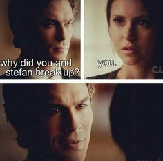 I'd say I'm sorry but I'm not-Damon Salvatore Serie Vampire Diaries, Vampire Diaries Quotes, Vampire Diaries The Originals, Damon Salvatore, Delena, Elena Gilbert, Paul Wesley, Best Tv Shows, Favorite Tv Shows