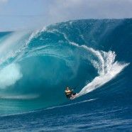 mazing footage featuring master surfer Ian Walsh riding a massive swell at Teahupoo, on the south-west coast of the island of Tahiti, French Polynesia. A Red Bull commercial.