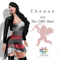 Chenae SL Love Hunt Chenae jacket in five sizes and the Chenae dress, also in five standard sizes. This is a dollarbie hunt prize from Prism. The hint ..