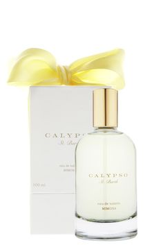 Calypso St Barth's Mimosa EDT, the summer scent to wear after a day of being on the beach. One of my favorite summer perfumes. #porteropinittowin