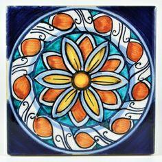 Inspiration: Italian Deruta tile
