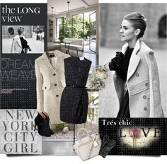 """NYC Girl"" by lacas ❤ liked on Polyvore"