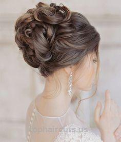 Elegant Glamorous Wedding Updo Hairstyles 2015 – 2016… Elegant Glamorous Wedding Updo Hairstyles 2015 – 2016 http://www.tophaircuts.us/2017/11/24/elegant-glamorous-wedding-updo-hairstyles-2015-2016/
