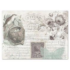 Vintage Wrapping Paper, Matching Gifts, Vintage Birds, Bird Design, Antique Books, Christmas Card Holders, Botanical Art, Music Notes, Artwork Design