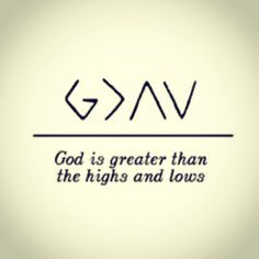 """""""God is Greater than the Highs and Lows"""" One of Nick Jonas' Tattoos. I want this!!"""