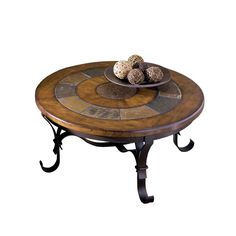 Stone Forge Round Cocktail Table by Riverside Furniture