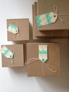 Gift tags saying 'thank you for your order we hope you love it! from Loving Dot'