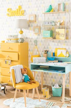 Tendencia decorativa Mint and Lemon - ¡Arriba, niños! | Maisons du Monde