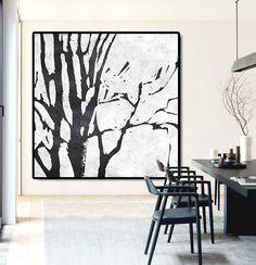 Large Abstract Painting Canvas Art Landscape von CelineZiangArt