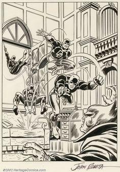 BENDIS! - Daredevil by John Romita Sr.
