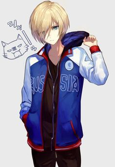 Yuri on Ice - Yuri Plisetsky Anime Boys, Hot Anime Boy, Manga Boy, Yuri Plisetsky, Yuri On Ice, Anime Style, Yurio X Otabek, Tamako Love Story, Adrien Y Marinette