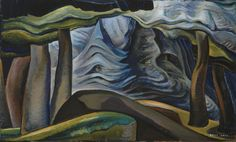 Emily Carr Abstract Tree Forms Courtesy Vancouver Art Gallery, Canadian Group of Seven Canadian Painters, Canadian Artists, Emily Carr Paintings, Vancouver Art Gallery, Group Of Seven, Deep Forest, Impressionist Paintings, Tree Art, Amazing Art
