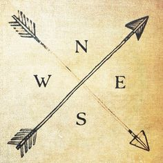 Image result for simple compass tattoos