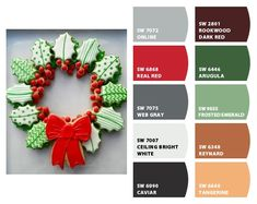 ColorSnap by Sherwin-Williams – ColorSnap by Reyhan S. Derbyshire, Vintage Holiday, Kiwi, Dark Red, Color Schemes, Emerald, Palette, African, Mood