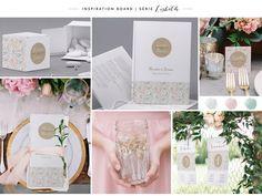 Faire-part de mariage M10-004 board inspiration