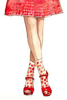 Socks illustration: http://paperfashion.net/2012/02/14/heart-socks/