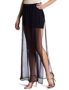 David Lerner Women's Long Skirt