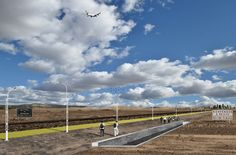 espacio cero suggests an 'invisible wall' of industry for US-mexico border