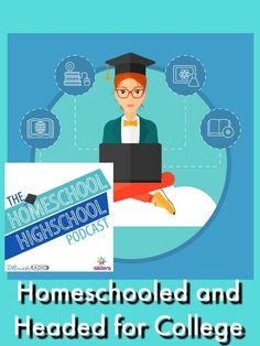 HSHSP Ep Homeschooled and Headed for College. What are some important things teens need as they prepare for college and applying for college? High School Years, In High School, High School Students, Middle School, College Majors, Scholarships For College, Apply For College, College Tips, Homeschool Transcripts