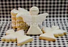 Biscoitos Decorados Anjos Batizado
