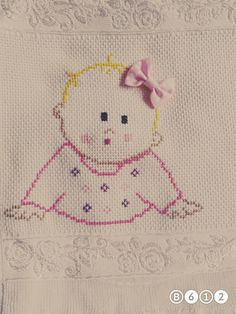 Small Cross Stitch, Cute Cross Stitch, Cross Stitch Heart, Baby Embroidery, Cross Stitch Embroidery, Cross Stitch Patterns, Crochet Patterns, Palestinian Embroidery, Crochet Baby Clothes