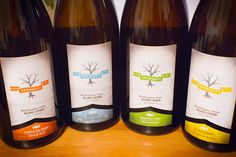 Snowdrift's four ciders. Cliffbreaks is my favorite, but they're all good.