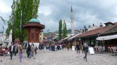 www.bosnayagidiyoruz.com Bosna Hersek-Saraybosna-Başçarşı-Sebil