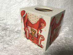 """Süße Tücher-Box """"Teddy"""", von GESCHENKE MIT STIL bei DaWanda. Weitere praktische Geschenke, findest Du hier: www.facebook.com/DanielasGeschenkemitStil und im Online-Shop: www.dawanda.com/shop/GeschenkemitStil"""