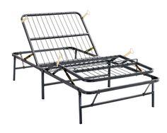 Amazon.com: Pragma Bed SimpleAdjust Head & Foot manually adjustable bed frame (Twin XL): Kitchen & Dining