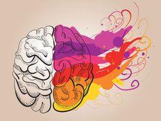 Eu tirei:Seu lado DIREITO predomina!! Este teste de cores vai determinar qual seu hemisfério cerebral dominante