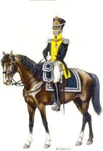 Colonnello Kasinowski, della fanteria polacca della legione della Vistola