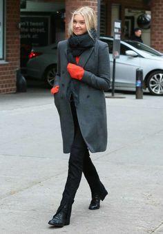 Elsa Hosk Street Style out in New York-1