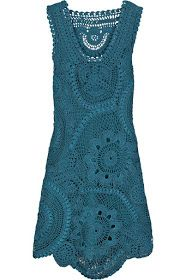 Crochet dress inspiration- Oscar de La Renta
