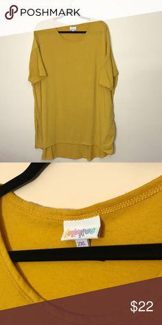 LuLaRoe Gold Irma Worn once. Excellent Condition! LuLaRoe Tops Tunics