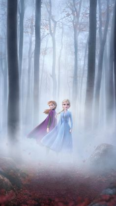 Frozen 2 - Trailer & Start Date - The official website for Disney Frozen more information about the new film, the current trailer - Frozen Disney, Princesa Disney Frozen, Film Frozen, Disney Princess, Frozen 2 Wallpaper, Disney Phone Wallpaper, Cartoon Wallpaper, Walt Disney Animation Studios, Walt Disney Pictures