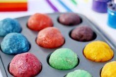 Rainbow Glitter Play-Doh