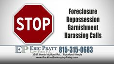 You do not have to live with the fear of losing your house, car, or other possessions. Our Rockford bankruptcy lawyers will stop debt collections, foreclosures and repossessions now! The bankruptcy laws are in place for your protection and designed to help you rebuild your life. At the Bankruptcy Law Firm of Eric Pratt we understand this and will help you get out from under crushing debt, give you peace of mind and a new financial beginning through bankruptcy.  1. Your First Step To Debt…