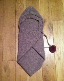 Stitch me Softly...: Baby Snuggle Wrap - knitting pattern