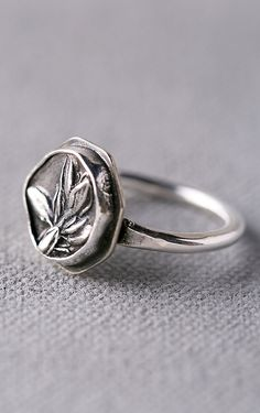 Heirloom thyme ring...cute gift for a cook or gardener