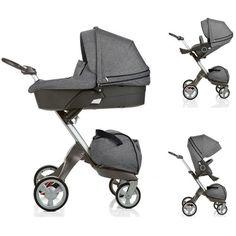 Stokke Xplory Newborn Stroller in Black Melange Stokke http://www.amazon.com/dp/B00AED2INU/ref=cm_sw_r_pi_dp_pL.dub010QNQJ