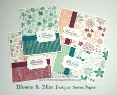 10 Lovely Stampin' Up! Blooms & Bliss Inspiration - DOstamping with Dawn, Stampin' Up! Demonstrator