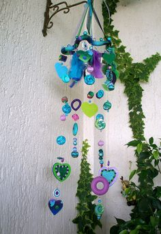 Mobile blue-green-purple by klio1961, via Flickr