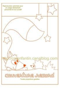 Fox and hedge hog would make a super cute quilt panel Felt Patterns, Applique Patterns, Sewing Patterns, Cute Quilts, Baby Quilts, Free Motion Embroidery, Cross Stitch Embroidery, Fox Quilt, Sewing Crafts