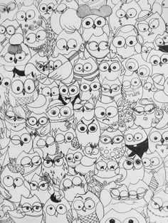 Patterns, owels
